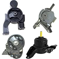LSAILON Engine Motor and Trans Mounts Kit Front Right Rear Transmission Mount Compatible for 07-12 Nissan Altima 4PCS