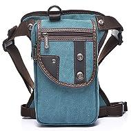 2f07335ecc560 Sunmig Men Multi-Purpose Leg Bag Military Drop Bag Outdoor Waist Bag