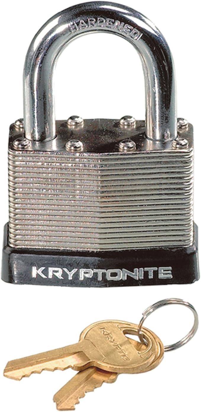 Kryptonite Stainless Steel Disc Padlock with Key 70mm