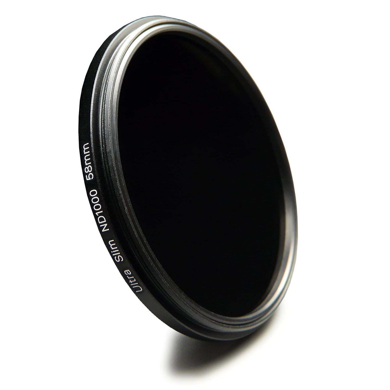 58mm Filtro ND neutro rotante regolabile da ND2 a ND400 per Nikon Df Canon EOS