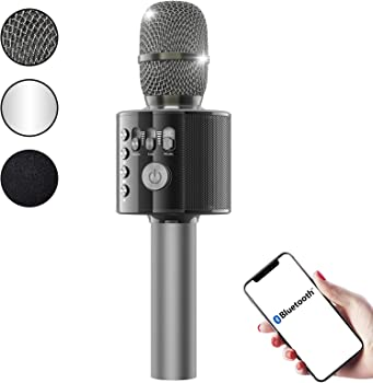 FlyBeBe Wireless Portable Handheld Microphone Speaker