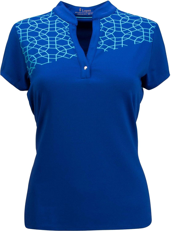 [ナンシーロペス] レディース シャツ Nancy Lopez Women's Legacy Golf Polo - E [並行輸入品] 3X  B07TG84N2L