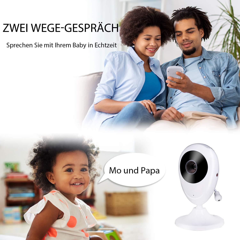 Nachtsicht Temperatur/überwachung /& 2 Way Talkback System Babyfon 2019 Babyphone mit Kamera Deyace Wireless Video Baby Monitor mit Digitalkamera