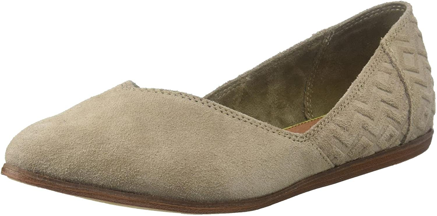 TOMS Womens 10009832 Taupe Suede