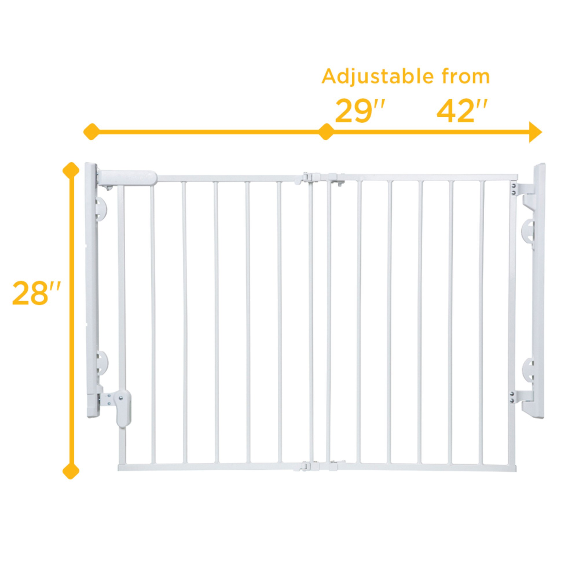 Safety 1st Ready to Install Gate, White by Safety 1st (Image #2)