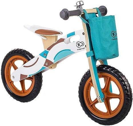 Kinderkraft - Bicicleta de madera infantil - 3 a 6 años - Color ...