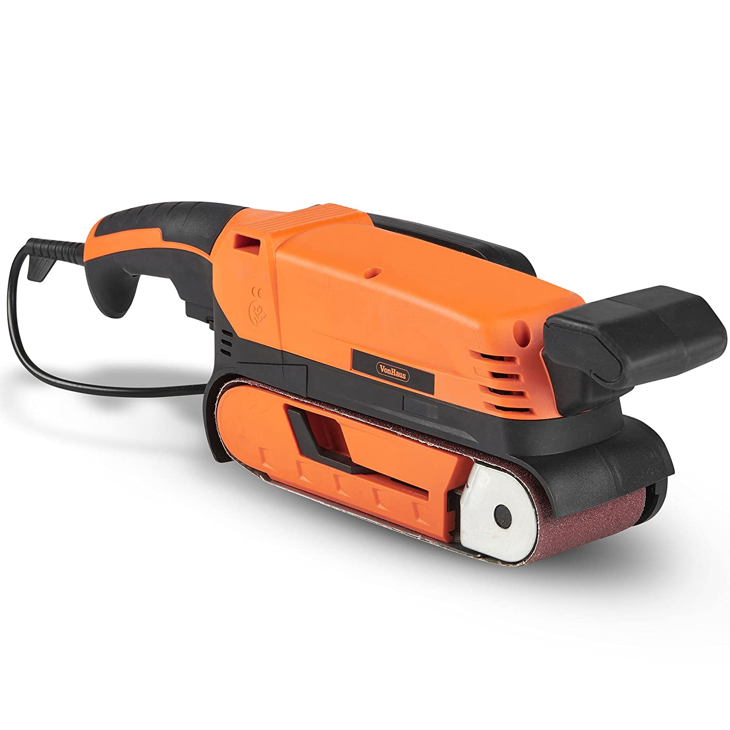 VonHaus 900W Belt Sander – Includes Variable Speed Settings, Clamps & Dust Extraction/Removal