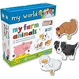 Gibsons My World My Farm Animals Jigsaw Puzzles