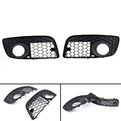 Amazon.com: Car Front Bumper Fog Lamp Lights Grill Grille ...