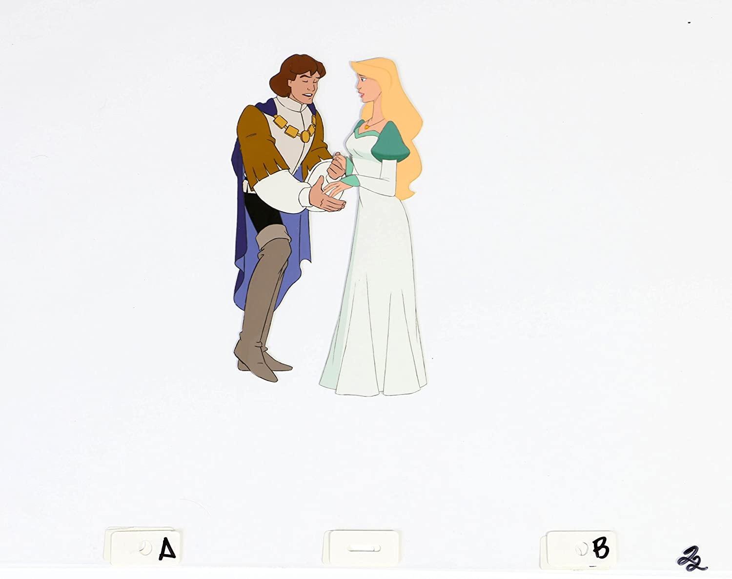 Amazon.com : Swan Princess Original Art Derek & Odette Adult : Everything Else