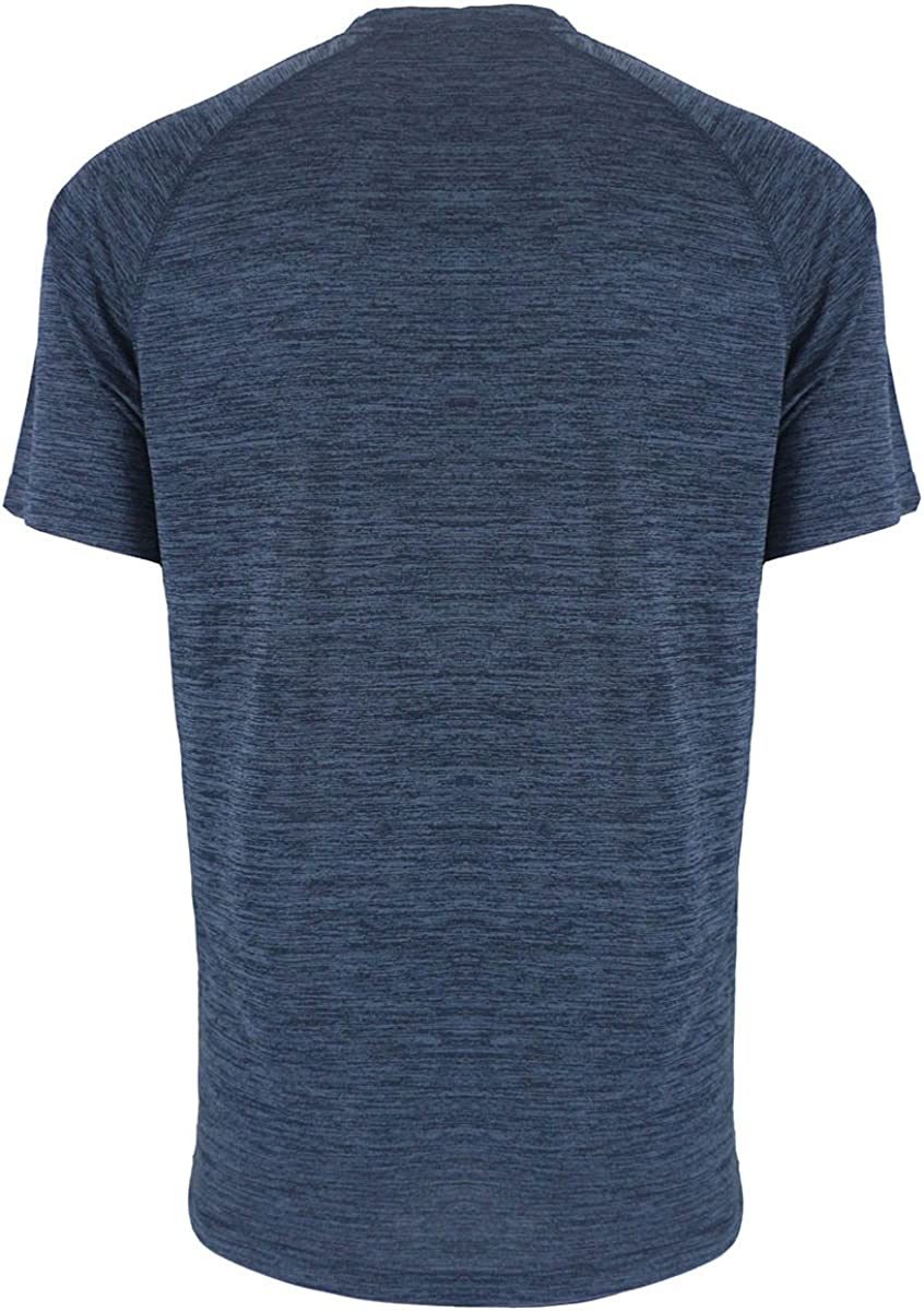 Henley Shirts for Men Short Sleeve Soft Quick Dry Workwear Button Neck Collar Slim Fitted Casual Basic T Top