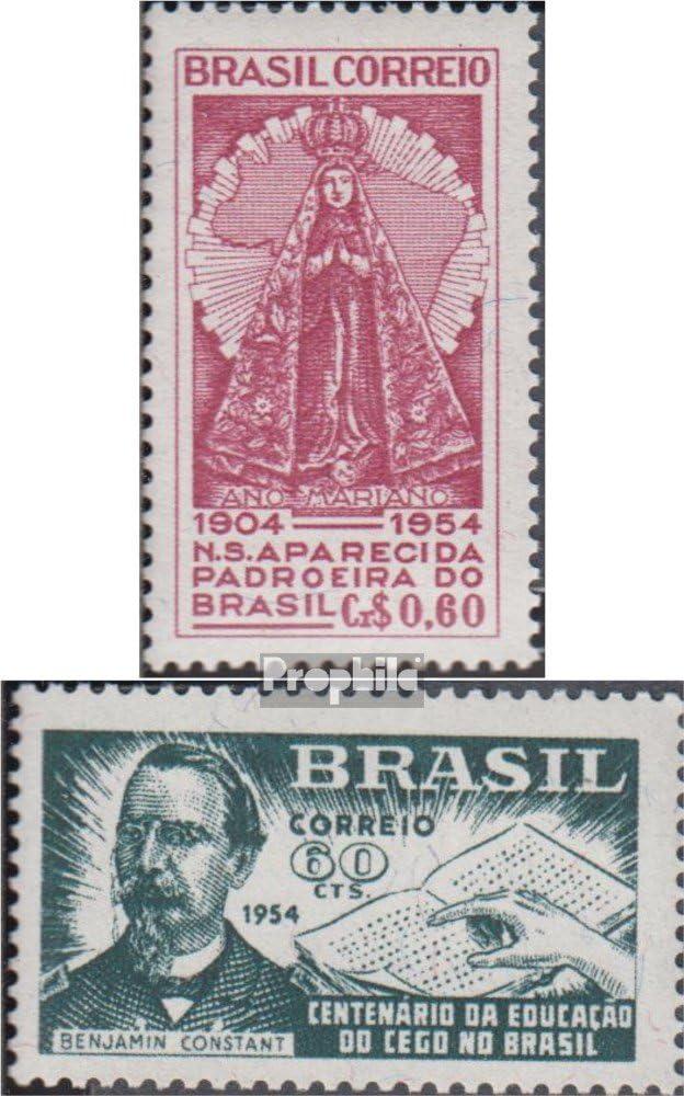 Prophila Collection Brasil Michel.-No..: 857,859 (Completa.edición.) 1954 Mariano año, Blindenbildung (Sellos para los coleccionistas) Salud: Amazon.es: Juguetes y juegos