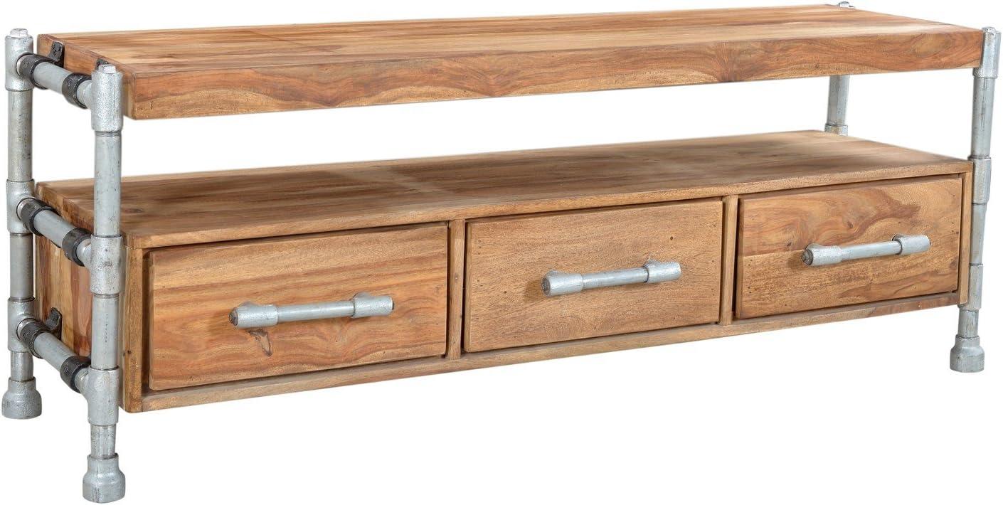 Sit-Möbel 4921-01 TV-mueble para televisor de tubo, 150 x 40 x 55 cm, colour beige: Amazon.es: Juguetes y juegos
