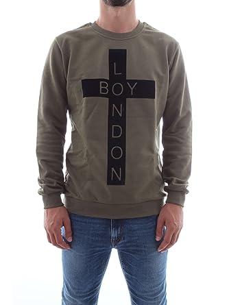 Boy London BL862 Sudaderas Hombre Military M: Amazon.es: Ropa y accesorios