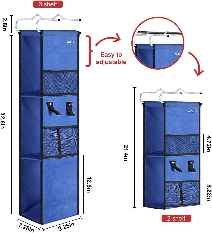 Hanging Locker Organizer 3 Shelf Ladder