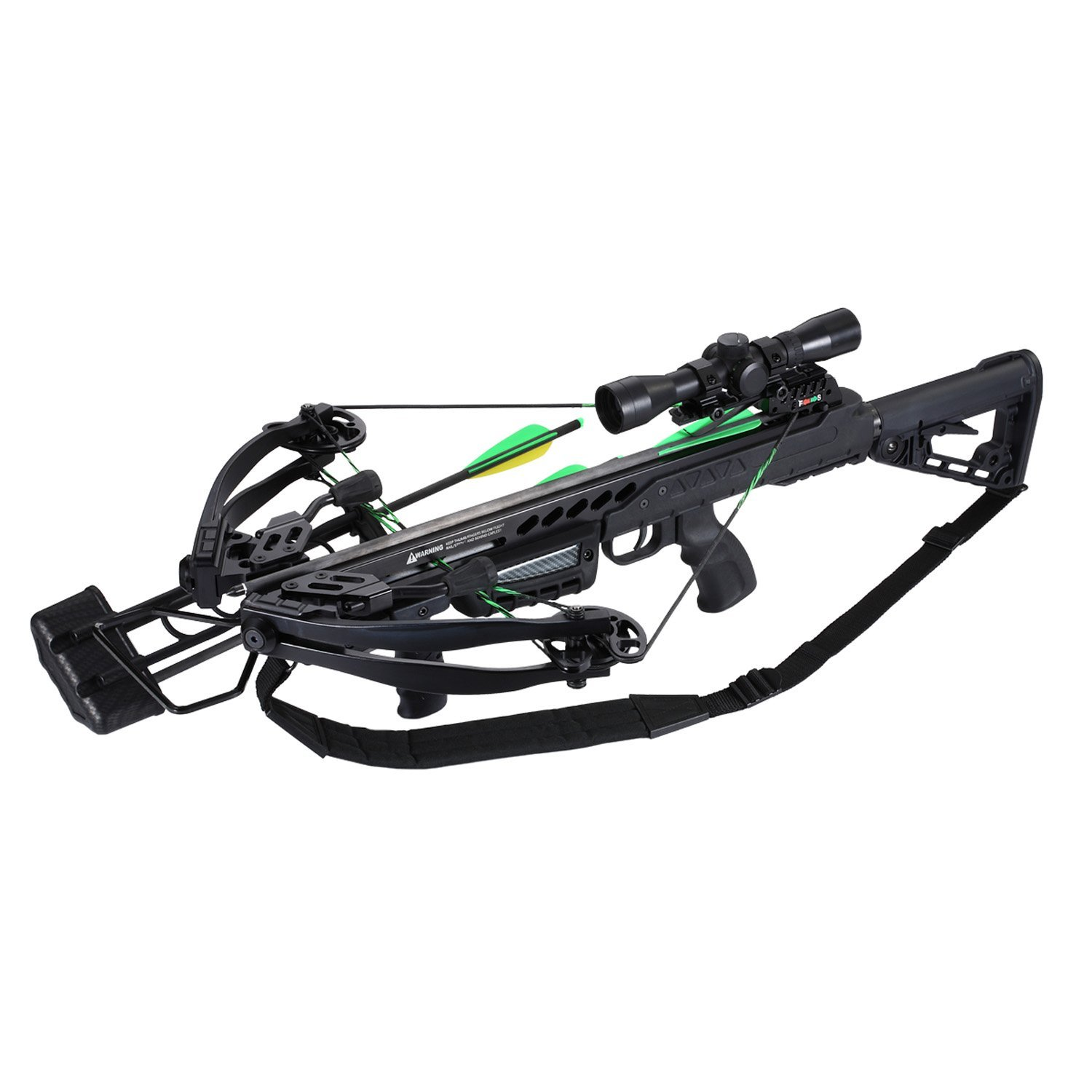 SA Sports Empire Aggressor Crossbow Package, Black