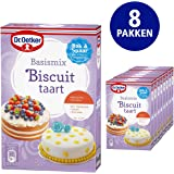 Dr. Oetker Dr. Oetker Basismix Biscuit Taart voor 3 lagen (multipack 8 x 330.00 gr)