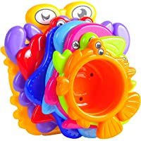 MooToys Under the Sea Animals Bath / Sand Stacking Cups