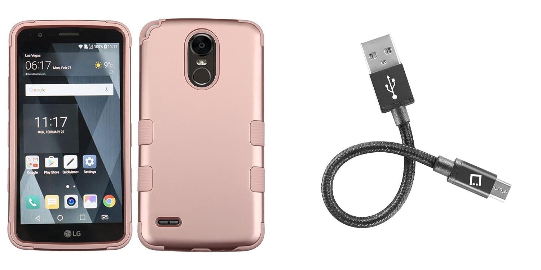 Amazon com: LG Stylo 3 - Accessory Bundle with Shockproof