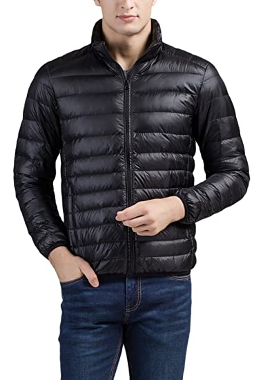 bb76273f6 Cheering Men's Packable Down Jacket Winter Coat