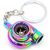 Turbo Flip Flop Schlüsselanhänger mit drehendem Verdichterrad - von VmG-Store