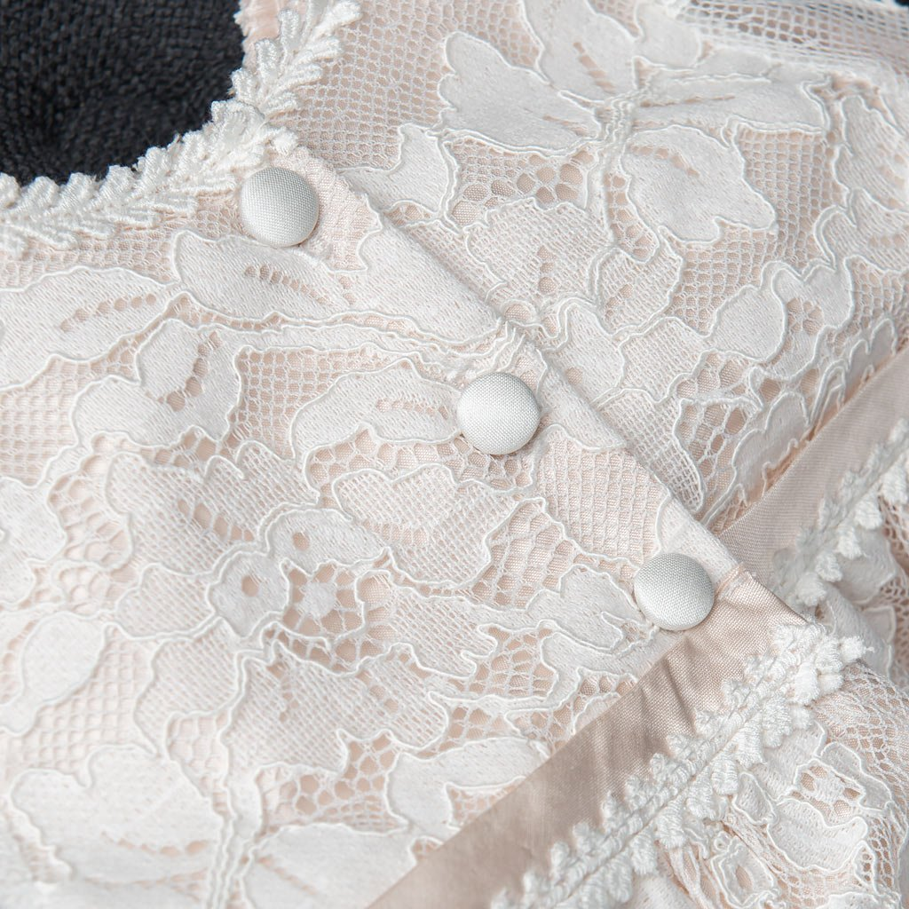 Amazon Victoria Baby Girl Silk And Lace Christening And Baptism