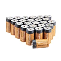AmazonBasics C Cell 1.5 Volt Everyday Alkaline Batteries - Pack of 24