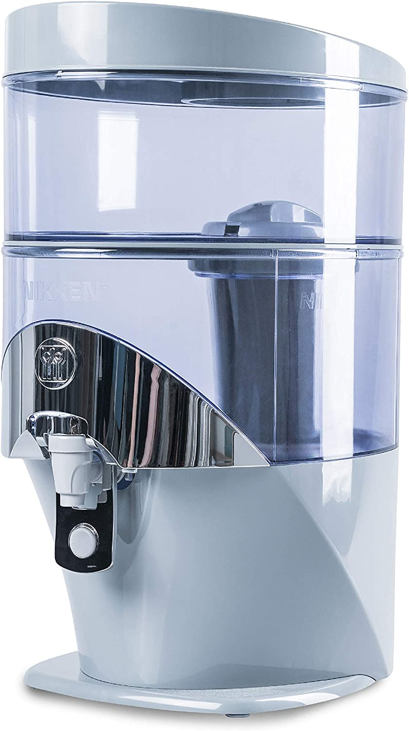 Nikken 1 Waterfall Gravity Water Filter Purifier System (1384) - PiMag Water Technology, Produces Alkaline Water Good for Health, Impurities and Other Contaminants in Water - PiMag Water Purifier