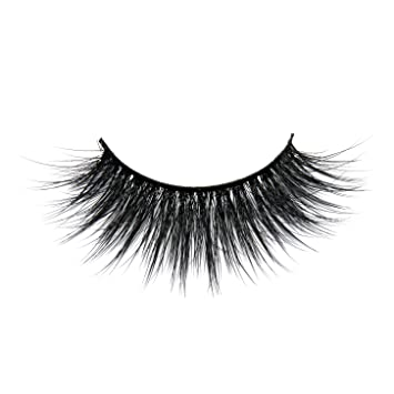 9a453a62082 Amazon.com : Luxury 3D Synthetic Faux Mink Lashes Volume Silk Angel Wing  Natural Long Thick False Eyelashes for Makeup Softer than Real Mink fur  Lashes : ...