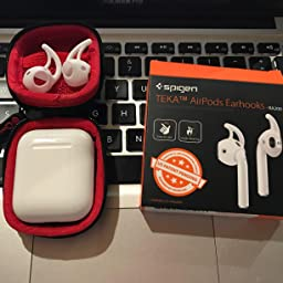 new products ad84d 1f357 Amazon.com: Customer reviews: Spigen TEKA RA200 Airpods Earhooks ...