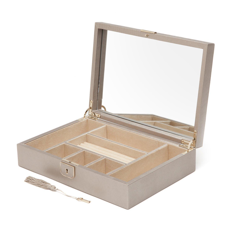 Amazon.com: Wolf Palermo Medium Jewelry Case, Pewter ...