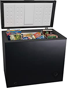 Arctic King ARC070S0ARBB 7 cu ft Chest Freezer, Black