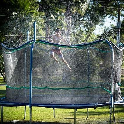 Trampoline Waterpark Fun Summer fun Water cooling system CHEAP!