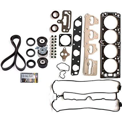 amazon com eccpp timing belt kit and head gasket sets,automotive