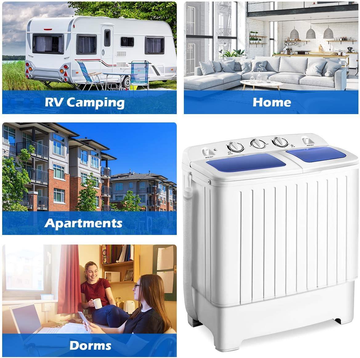 Amazon.com: GiantexLavadora y secadora de centrifugado ...