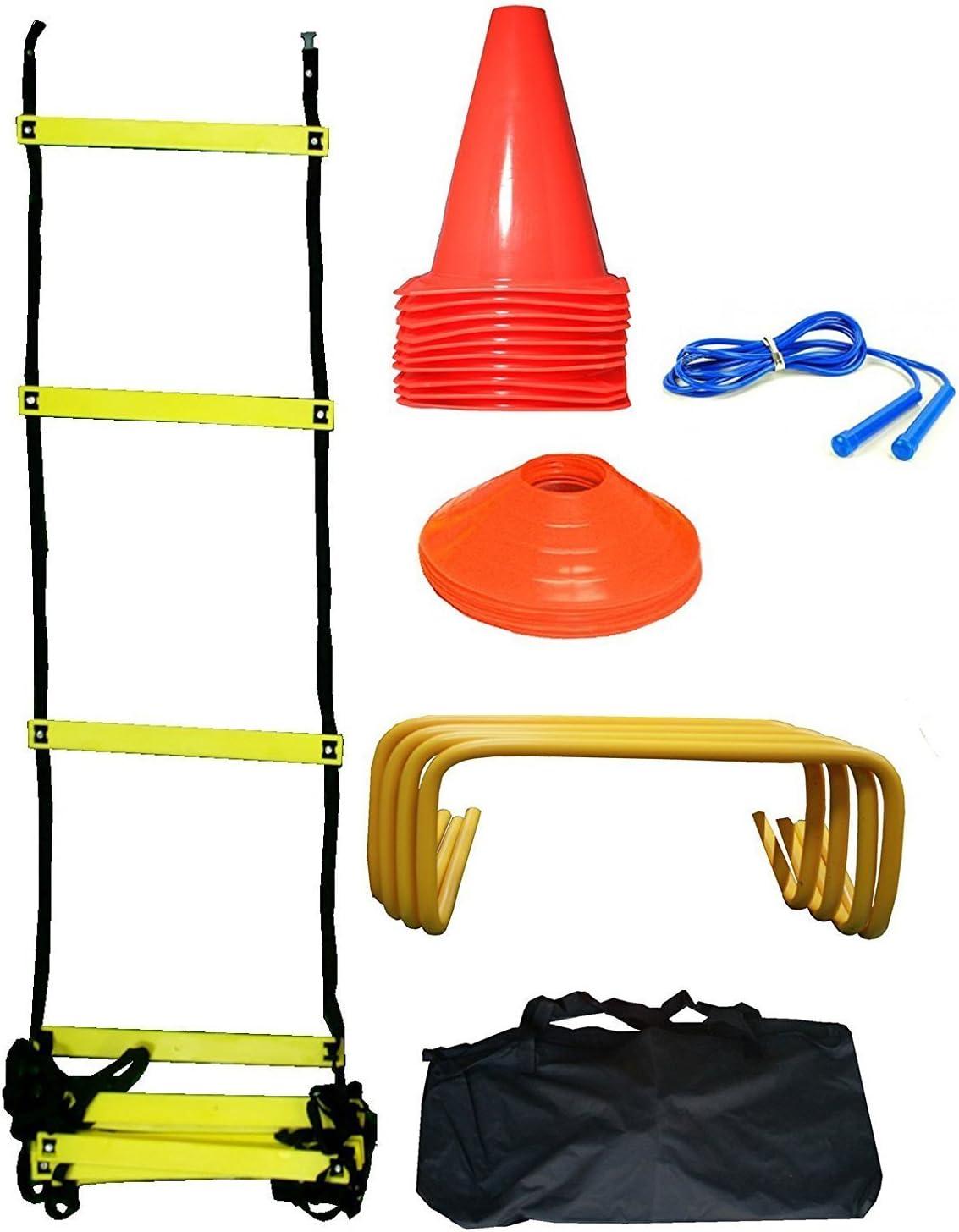 CW MARK - Juego de entrenamiento de agilidad y velocidad para escalera de agilidad: Amazon.es: Deportes y aire libre