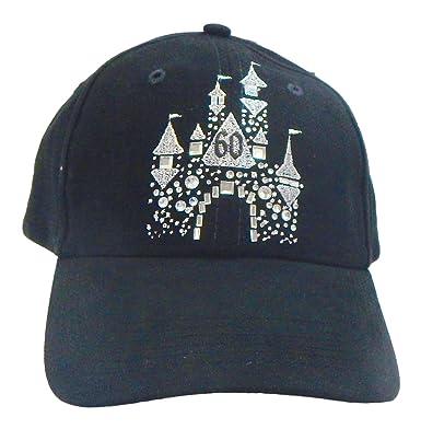 Amazon.com  Disney Parks Exclusive Disneyland 60th Anniversary Diamond  Celebration Castle Hat  Clothing 6c67f5ab112