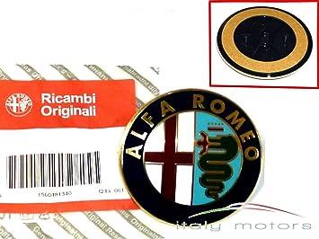 ORIGINAL ALFA ROMEO GT 156 147 heckemblem EMBLEMA MALETERO Rígido-156048134: Amazon.es: Coche y moto