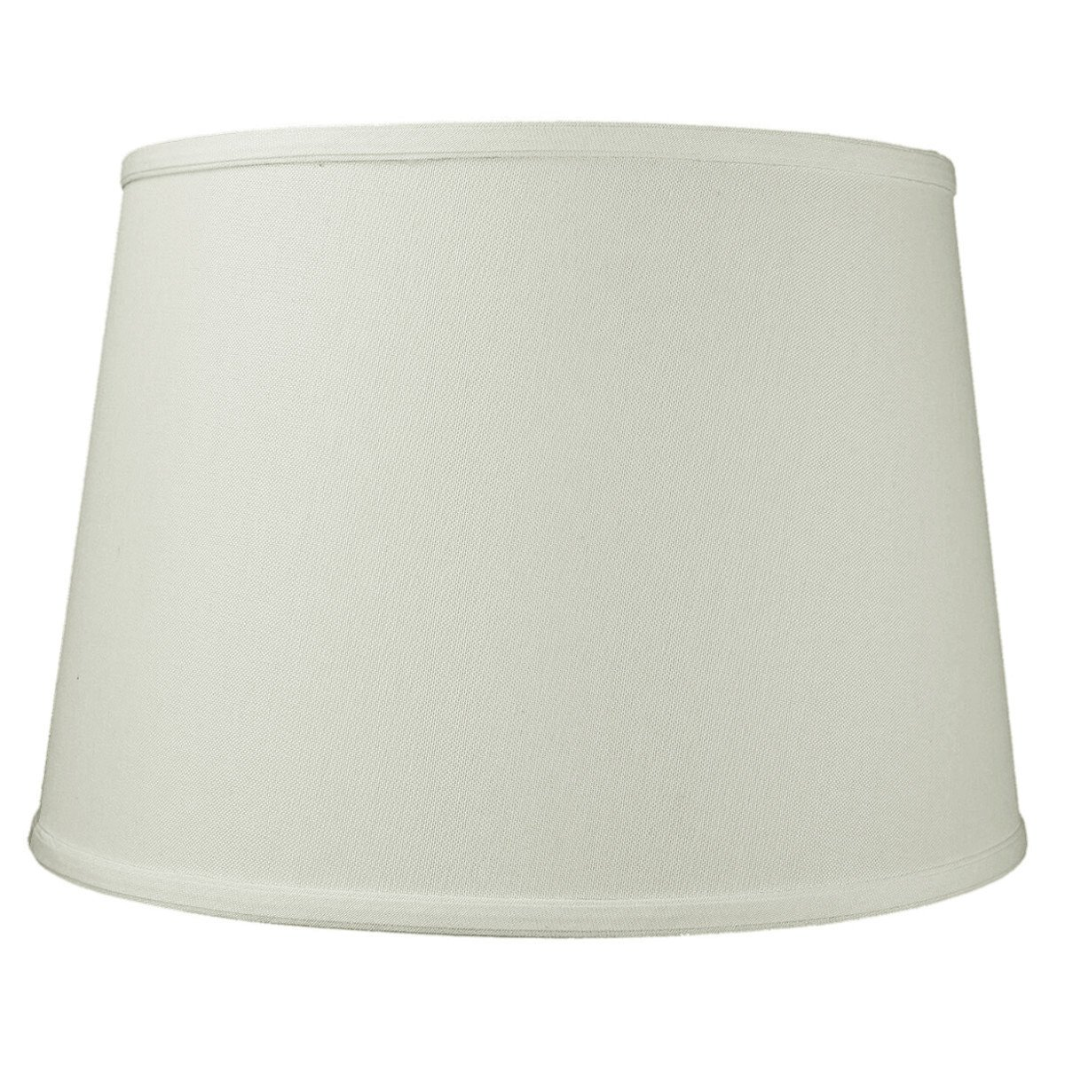 HomeConcept 131611FLLO Light Oatmeal Linen Floor Lampshade with Brass Spider Fitter by Home Concept, 13'' x 16'' x 11'', White
