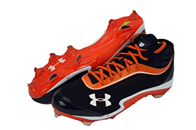 new product 3a42b cfcb2 Image Unavailable. Image not available for. Color  Under Armour UA Heater  IV 5 8 ST Baseball Cleats Men s Size ...