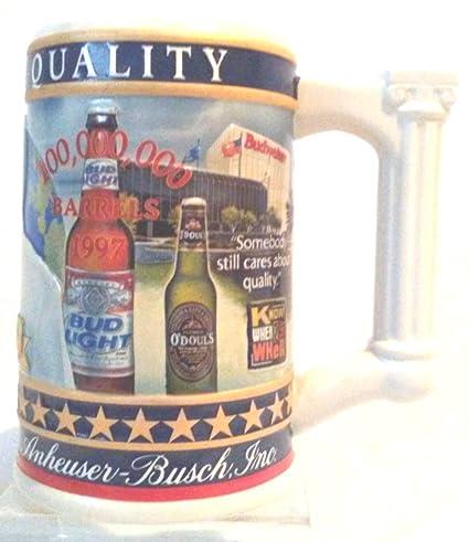Amazon com : Busch Family Stein #5, 2005 Budweiser State