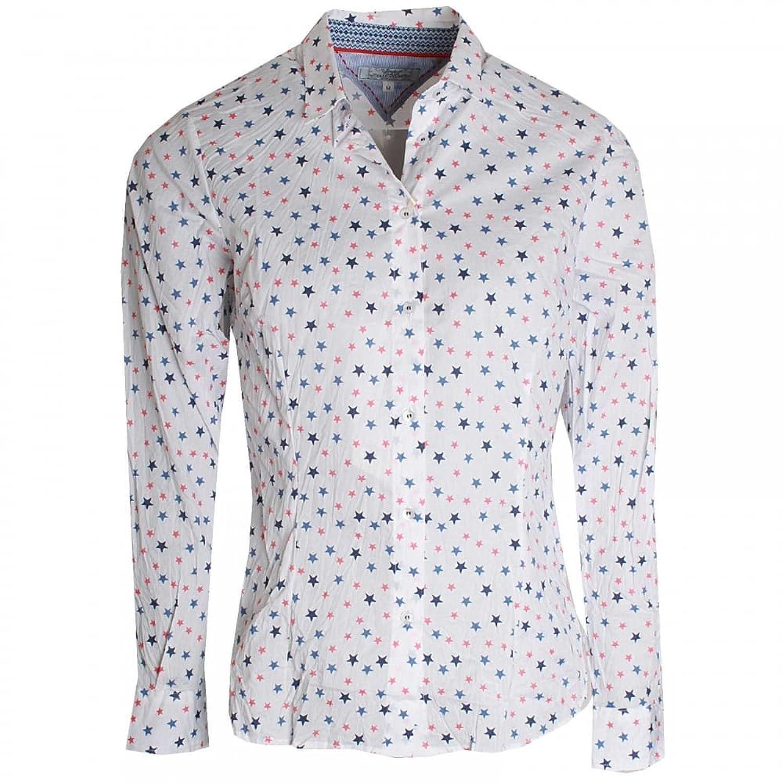 Dani Star Print Long Sleeve Cotton Shirt