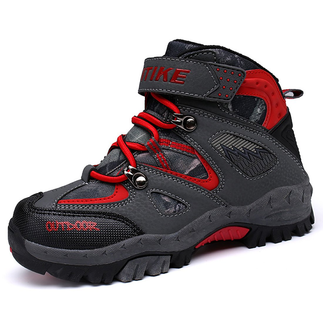 Boy's Snow Boots Kid's Winter Sneaker Big Little Kids Warm Shoes Anti Slip