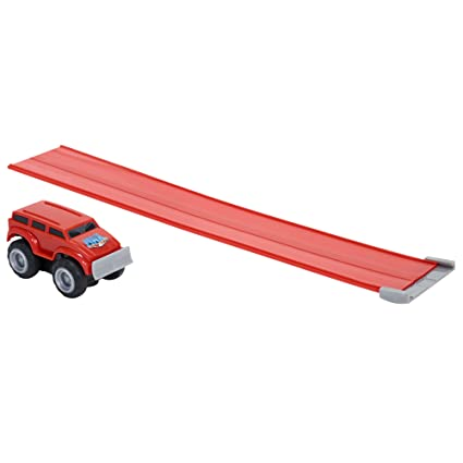 Amazoncom Max Tow Truck Mini Haulers Push Body Style Red Toys
