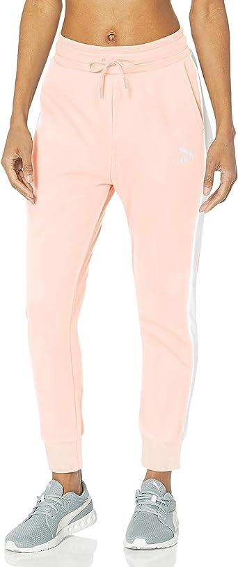Puma Classics T7 - Pantalones de chándal para mujer: Amazon.es ...