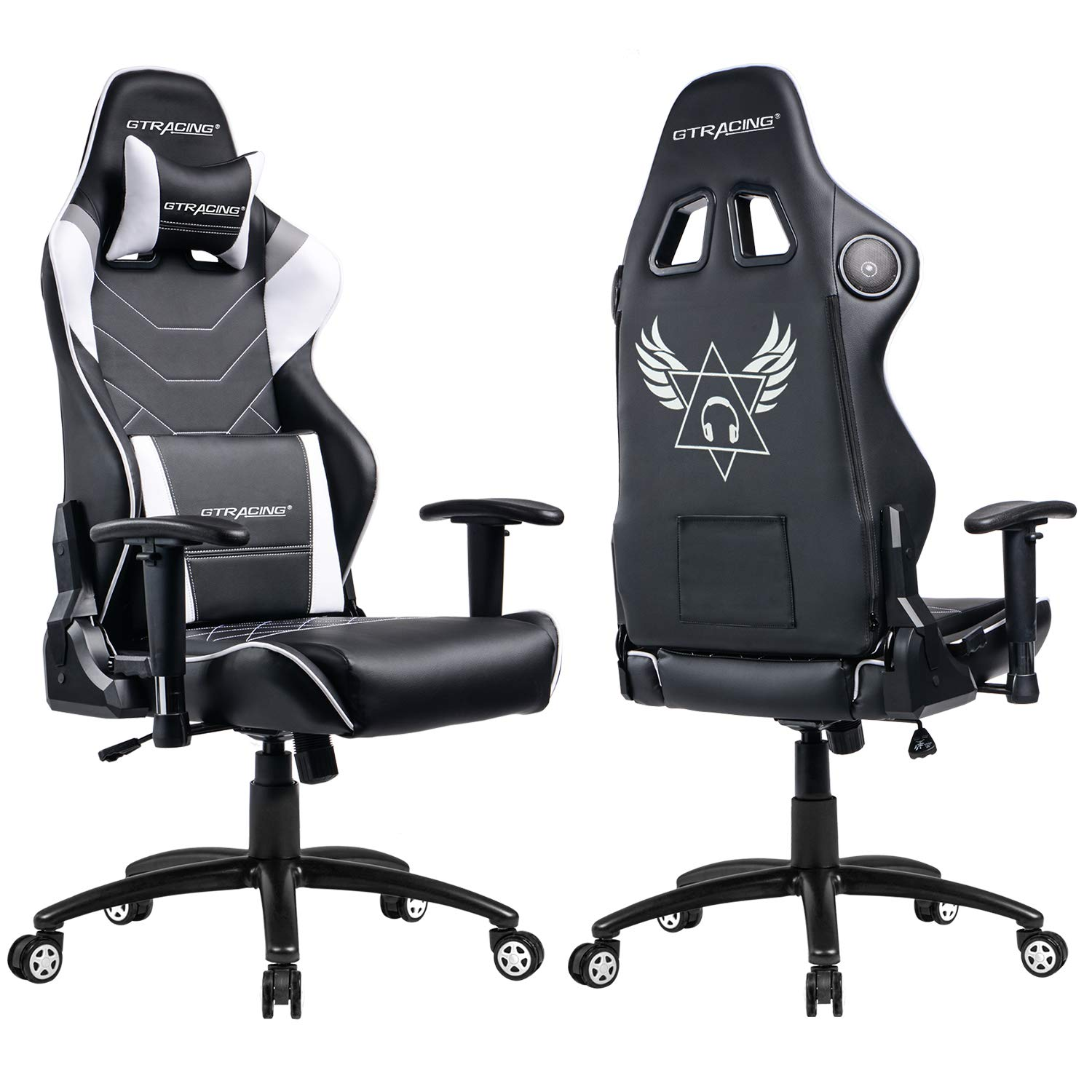 Gtracing Music Gaming Chair With Bluetooth Speaker