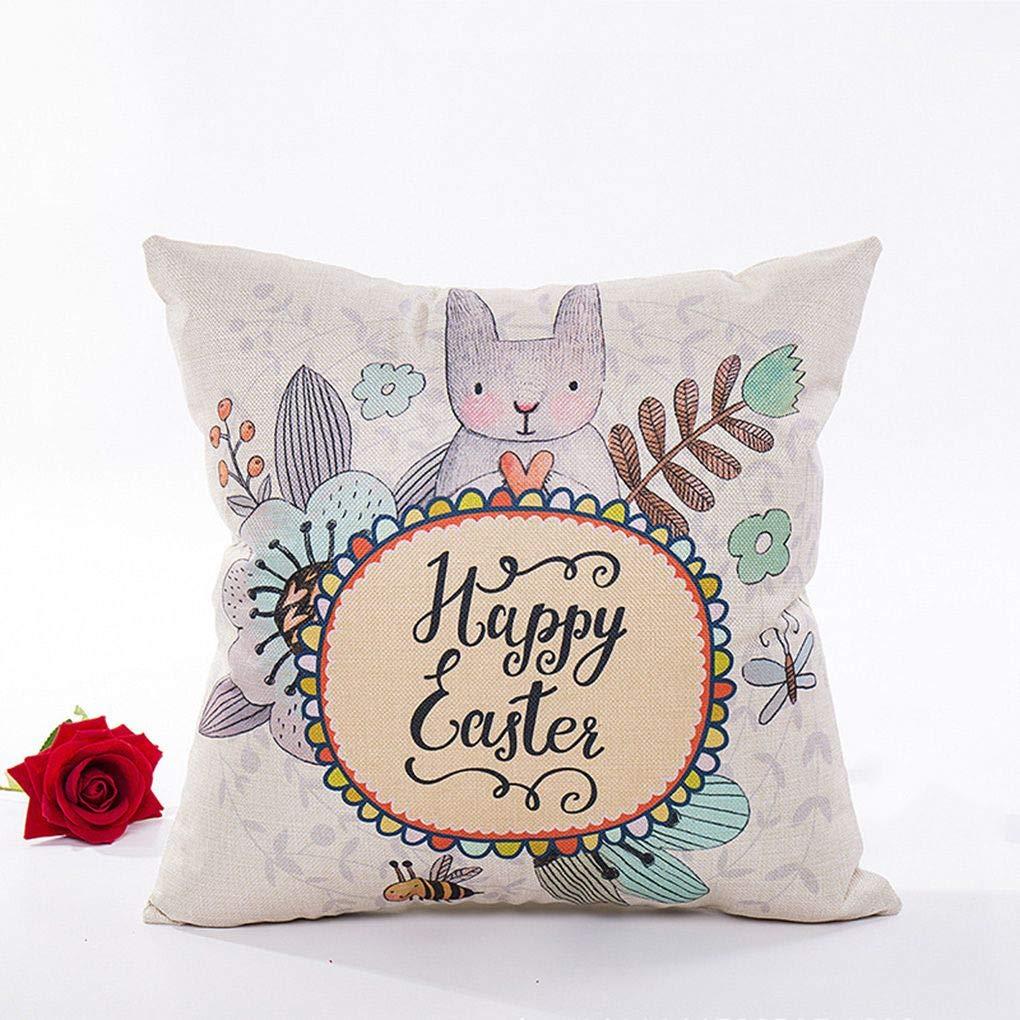 Gankmachine Estilo Pascua Cuadrados Almohadas decoración ...