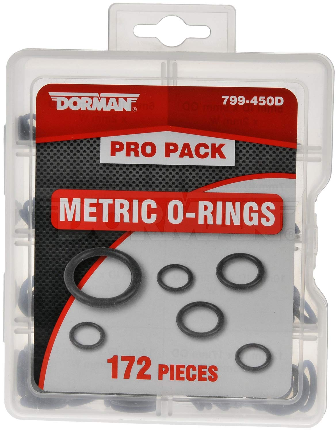 DORMAN 799-450D Pro Pack Metric O-Rings 172 Pack