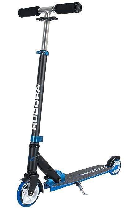 HUDORA Big Wheel Bold 125 - Scooter (Adulto, Negro, Azul)