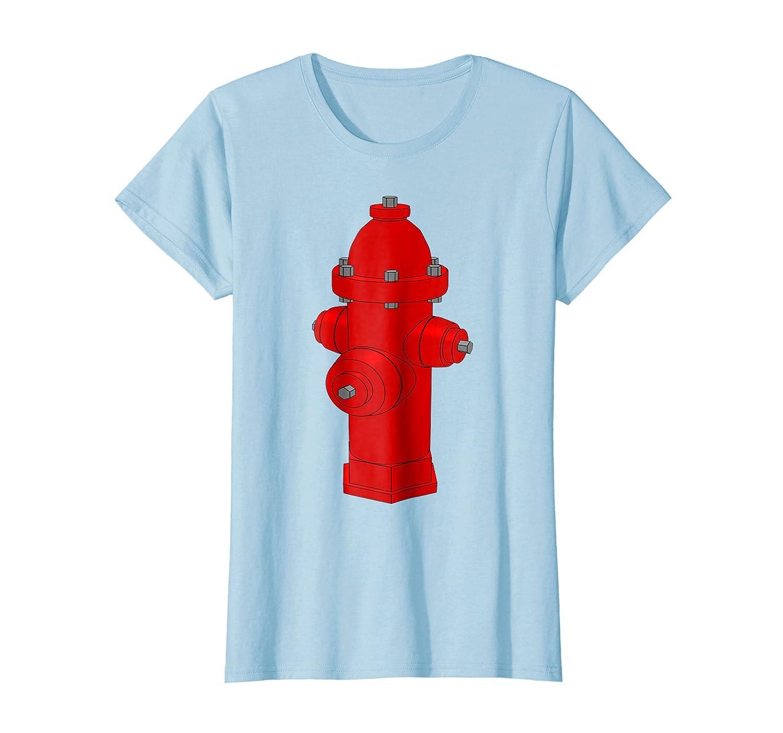 Fire Hydrant Shirt Firefighter Firetruck Pet Dog Water Hose-Teechatpro